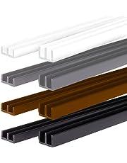 PROHEIM Set profilés avec Chemin Guidage pour terrariums de (Montage en Bas et en Haut) - Profilés pour épaisseur de Verre de 4 mm, idéals pour Monter des terrariums
