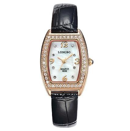 Diamond relojes moda mujer cinturón de la mujer relojes impermeable cuarzo reloj de pulsera para mujer