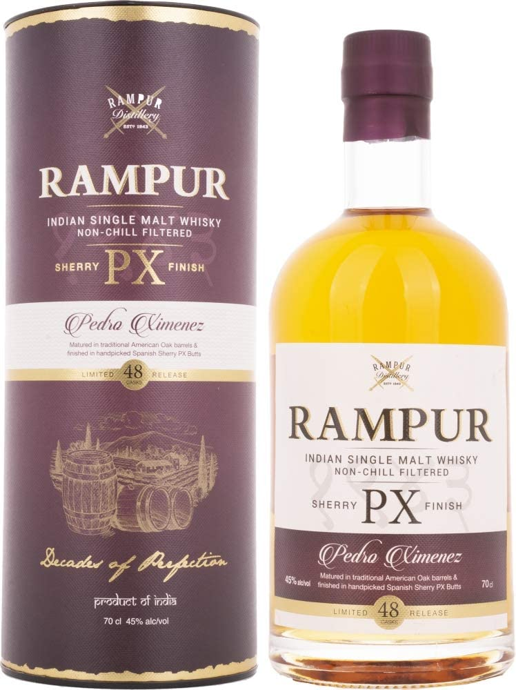 Rampur PX Sherry Cask Indian Single Malt Indischer Whisky