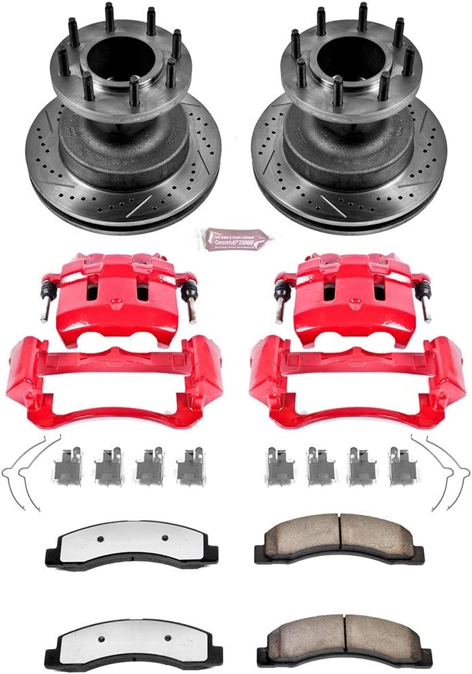 Power Stop KC2907-36 Front Z36 Truck and Tow Brake Kit with Calipers