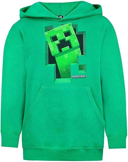 Felpa Ufficiale con Personaggi Minecraft Bambino
