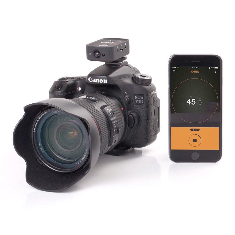 Pluto disparador con cable N3 para Canon - mando a distancia, GoPro, Startrail, HDR, vídeo, Lightning, sonido/luz/laser/movimiento de disparo, ...