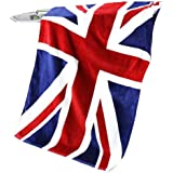 Greenery large size 140cm x 70cm Pure Cotton Soft and Absorbant Beach Towel Bath Towel Great for Sports, Swim, Pool ,Spa and Sauna-- Union Jack