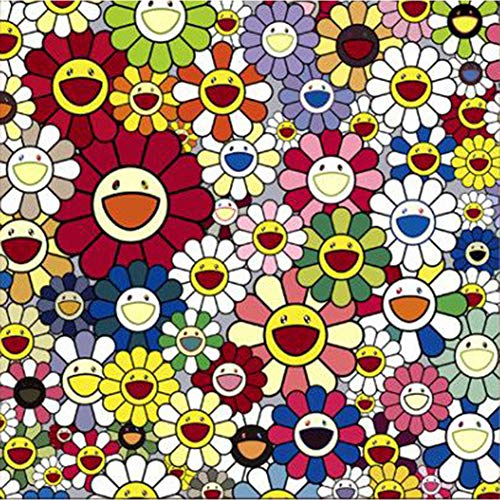 UPMALL DIY 5D Diamond Painting by Number Kits,Full Drill Crystal Rhinestone Embroidery Pictures Arts Craft for Home Wall Decoration Abstract Smiley Face 11.8×11.8Inches ()