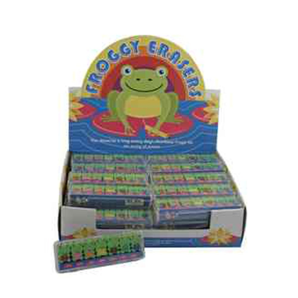 Frog A Day Mini Erasers Streamline