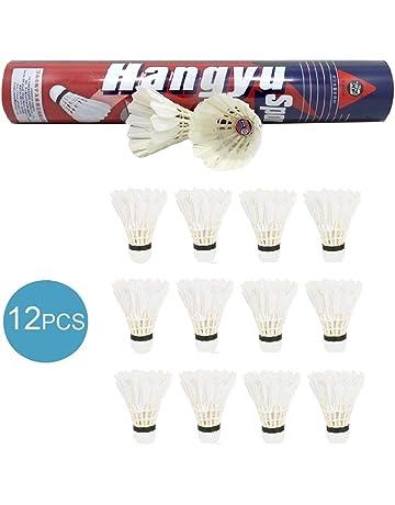 BESPORTBLE 12 Pcs en Plastique Badminton Volants Durable Portable Exercice Volants Sport Fournitures pour Int/érieur Ext/érieur Badminton Accessoires