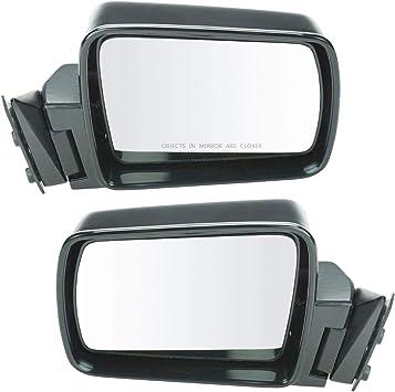 Folding Black Manual Mirror Right for Wagoneer Cherokee Comanche Pickup Truck