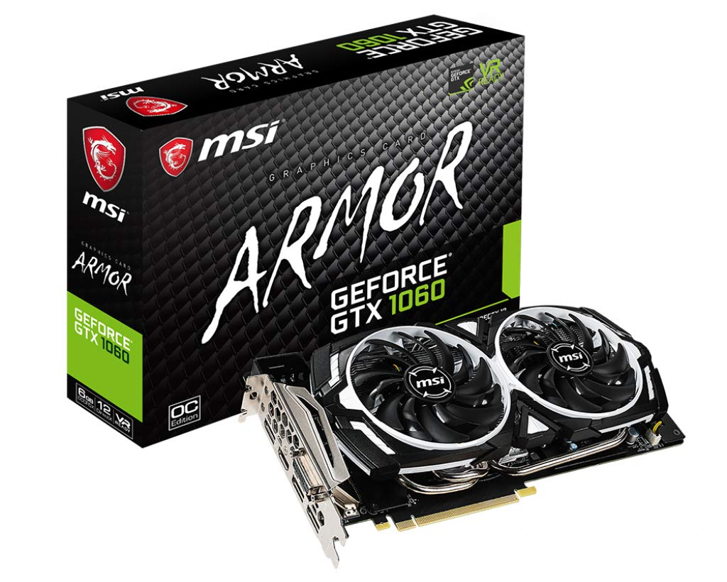 MSI Geforce ARMOR GTX 1060