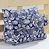 TIANTA-Cushion Bedside triangle cushions large pillow soft bag bay window waist cushions office sofa sofa pillow neck protection waist pillow ( Color : Y , Size : 45cm )