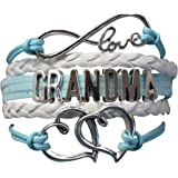 Grandma Bracelet, Grandma Jewelry Makes Great Grandma Gifts(Blue & Pink Available)