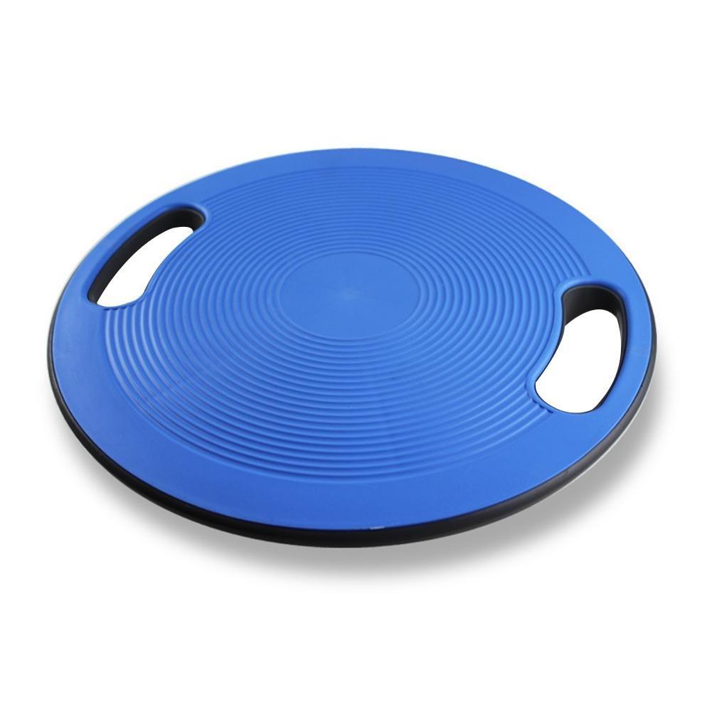 ideal f/ür die Verbesserung der Haltung Yoga-Balance-Board Anti-Rutsch-Balance-Platte mit Seitengriffen Balance Rehab Kissen Physiotherapie Core Training