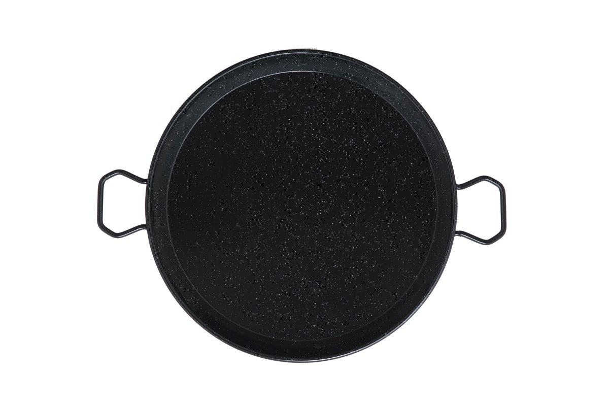 Mabel Home 14-inch Enamaled Steel Paella Pan, 36cm Ringg 36