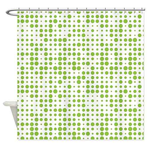 CafePress Dot Explosion Shower Curtain Decorative Fabric Shower Curtain (69