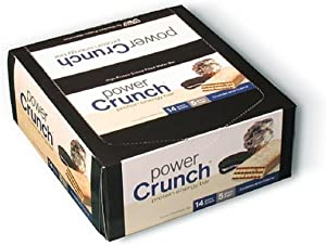 Power Crunch Original Cookies and Creme Protein Bar, 1.4 Ounce - 12 per case.