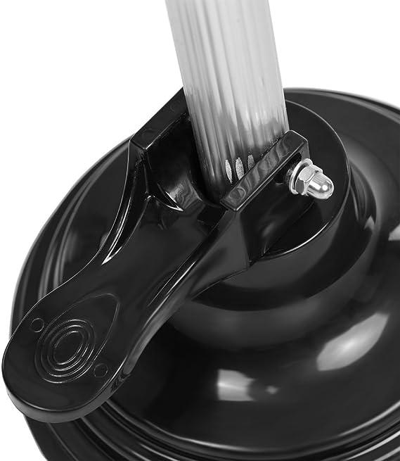 zroven Supporto per asciugacapelli regolabile in altezza con supporto per asciugatrice mani con base non inclinabile pesante