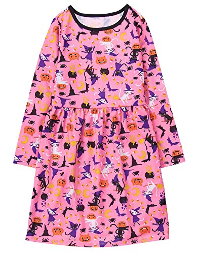 Gymboree Little Girls' Cat Sleep Gown, Multi, L