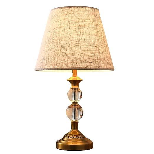 Lámpara de Mesa LITING Lámpara de sobremesa Decorativa Americana ...