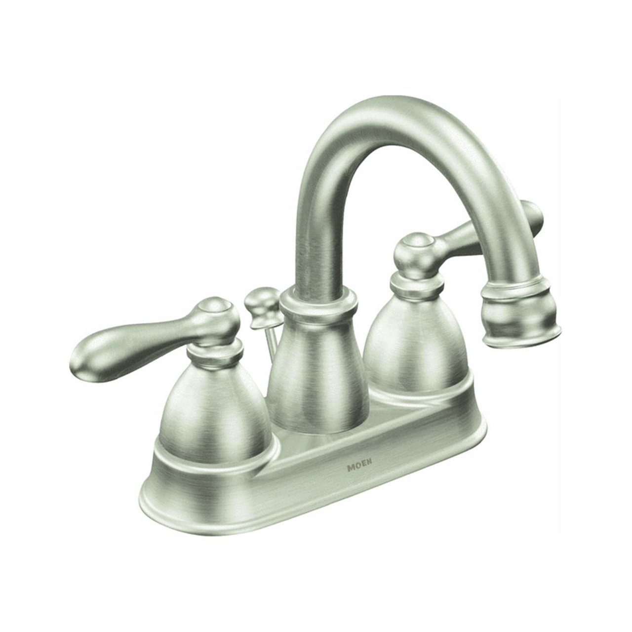 Moen CA84667SRN Double Handle Centerset Bathroom Faucet from the ...