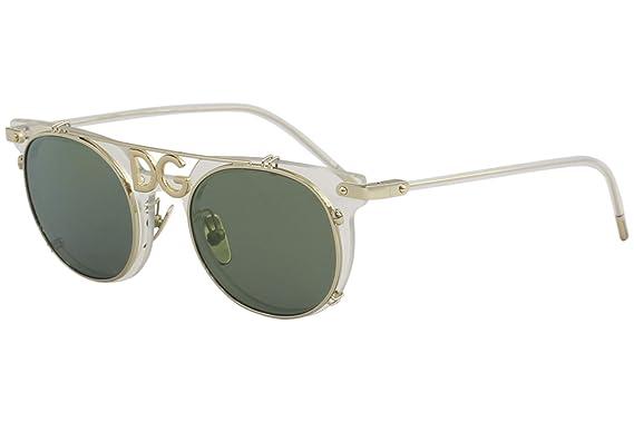 Dolce e Gabbana 0DG2196 Gafas de Sol, Clear, 49 para Hombre ...