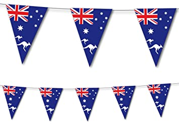 DH-Konzept 3,5 m Banderolas * Australia * como decoración ...