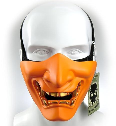 Atairsoft Máscara para disfraz de halloween, cosplay, BB, demonio ...