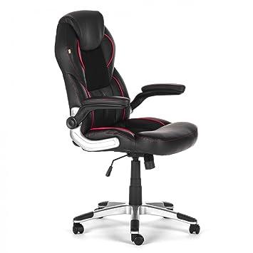 MY SIT Chaise De Bureau Siège De Bureau Fauteuil Design Noir - Fauteuil design bureau