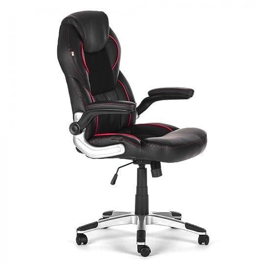MY SIT Chaise de bureau Sige de bureau Fauteuil Design Noir