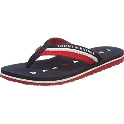 Tommy Hilfiger Tommy Loves NY Beach Sandal, Chanclas para Mujer