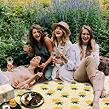 LEASEN Picnic Blanket, 79''×77'' Extra Large
