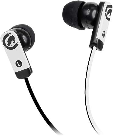 ECKO EKUZNERD Zone Premium Sound Earphones Mic Tangle Free Cable Red New Headph