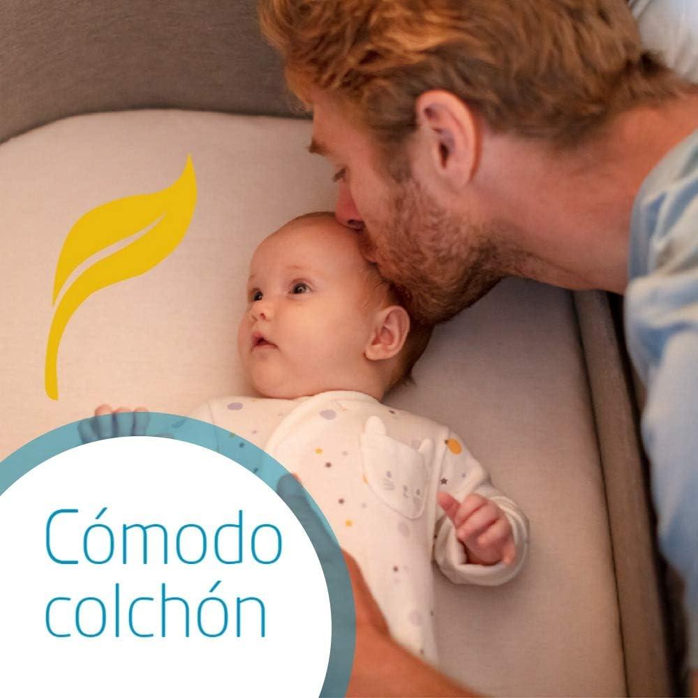 adecuada desde el nacimiento 9 kg Maxi-Cosi Iora Cuna de colecho con funci/ón de deslizamiento sencillo Essential Blue 0 meses