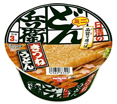 <Instant Udon noodle> DONBE mini??Udon with deep fried tofu? 12 packages