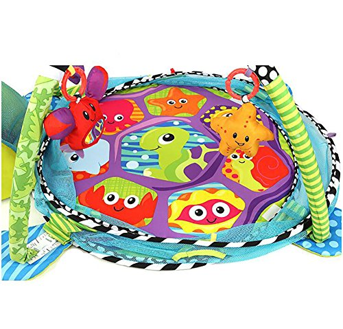 Baby Cartoon Toys Grow With Me Activity Gym Play Mat And