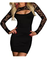 ANDI ROSE Women's Dress Size: M-Bust: 30 – 40.2 Inch Waist: 28.4 – 36.3 Inch Hips: 33 – 42 Inch Black