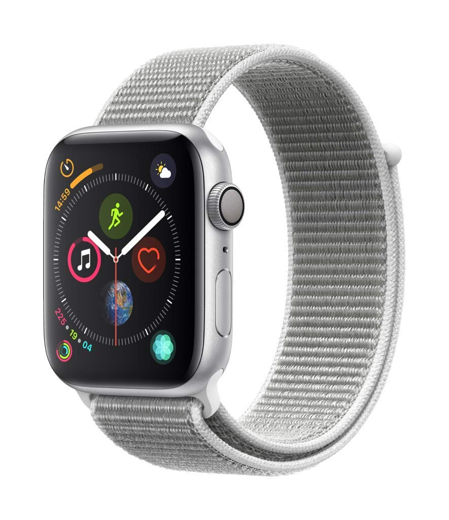 Apple Watch Series 4 Reloj Inteligente Plata OLED GPS (satélite ...