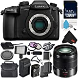 Panasonic Lumix DC-GH5 Mirrorless Micro Four Thirds Digital Camera (Body Only) + Panasonic Lumix G Vario 14-140mm f/3.5-5.6 ASPH + 128GB Class 10 Memory Card Bundle