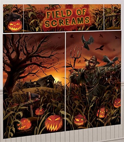 Field of Screams Scene Setter Decoration Kit (Scream Scarecrow)