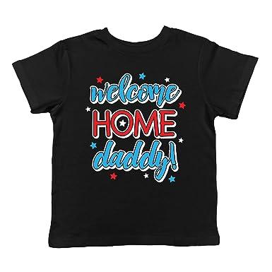 24de9b9d3f9f4 SpiritForged Apparel Welcome Home Daddy! Infant T-Shirt, Black 6 Months