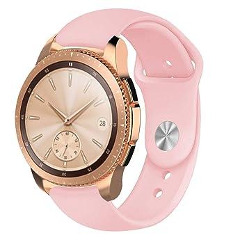 Qupida - Correa de Silicona para Reloj Samsung Active R500/Samsung ...