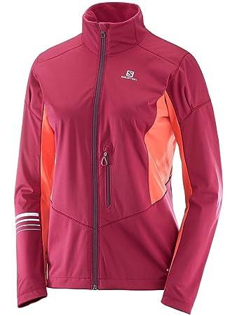 Salomon Damen Jacke, Lightning Sshell: : Sport