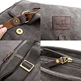 77dc2e0864 Canvas Crossbody Bag TOPWOLF Small Messenger Casual Travel Working Tools  Bag Shoulder Bag Easily Hold Phone Handset Key Sunglasses Khaki