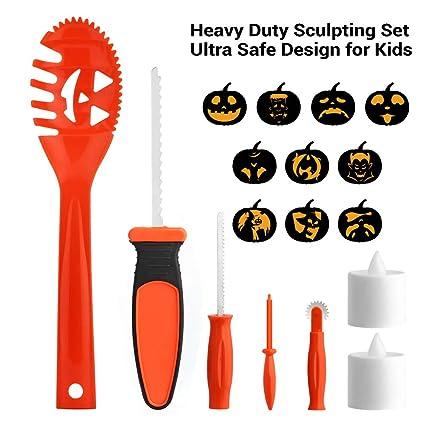 Amazon Com Brizled Pumpkin Carving Kits 5 Tools Kit 10 Halloween