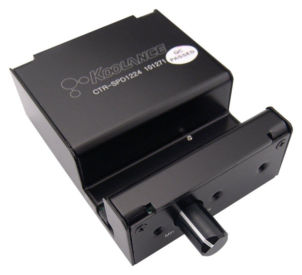 Koolance CTR-SPD1224M 12V or 24V Pump/Fan Controller