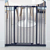 """North States 38.5"""" Wide Extra-Tall Easy-Close Baby Gate: Equipped with triple locking system - Ideal for doorways…"""