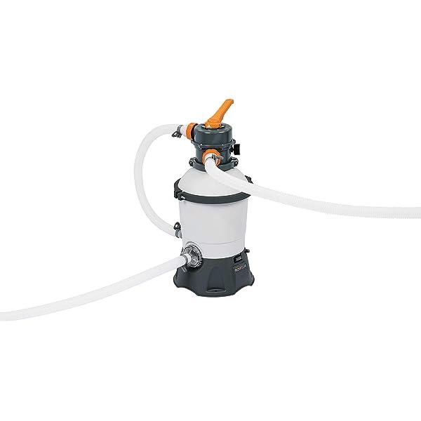 vidaXL Sandfilteranlage Sandfilter Poofilter Filteranlage 11.000 L//h 400 W