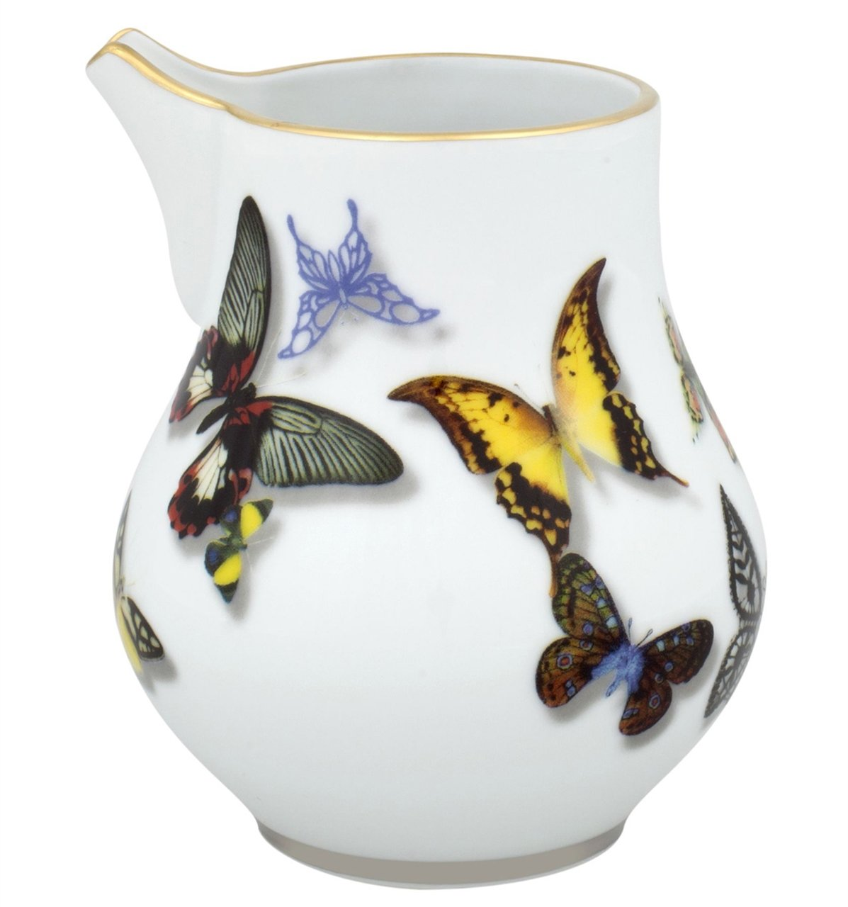 VISTA ALEGRE - Butterfly Parade by Christian Lacroix (Ref # 21117743) Porcelain Milk Jug by Unknown