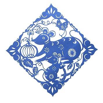 Amazon Com Chinese Zodiac Paper Cut Chinese Traditional Handicraft