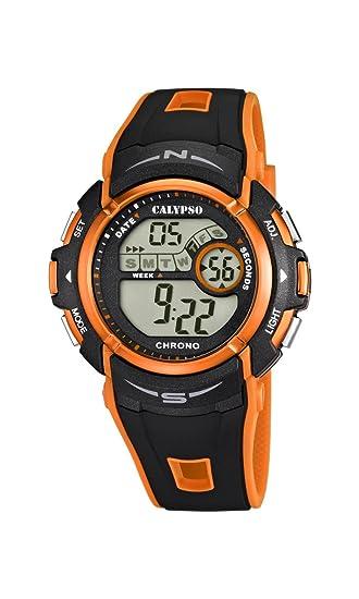 Calypso Reloj Digital para Chico de Cuarzo con Correa en Plástico K5610/7