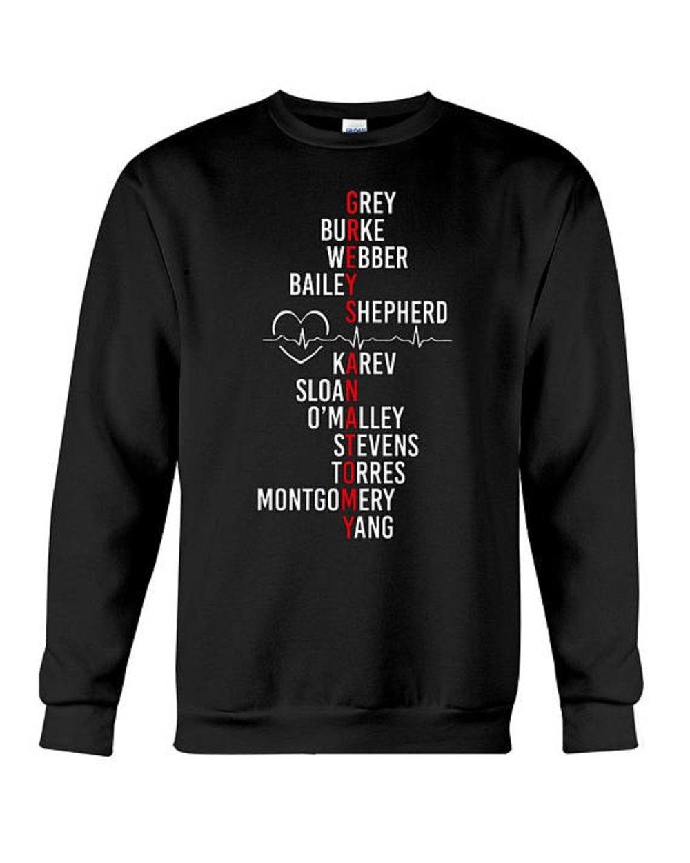 superhotapparel Greys Anatomy Cast Sweatshirt - Grey's Quotes Shirt Merchandise Gifts For Fans (Medium)
