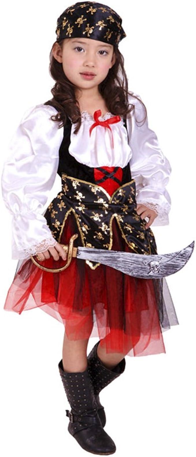 Dr.mama Disfraz Cosplay Infantil Trajes de Piratas para Halloween ...
